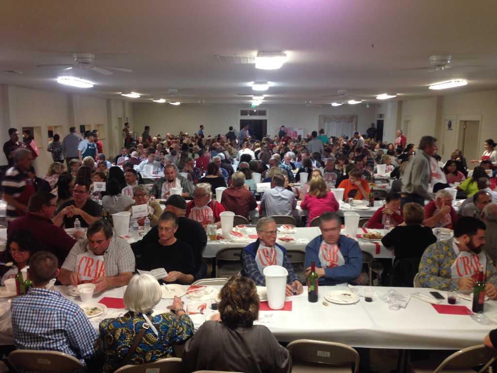 Patterson's annual Crab Cioppino Feed